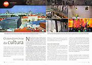 "TEARSHEET: ""Museum Quarter Vienna"" by Heimo Aga, in Volta ao Mundo."