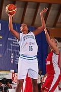 Bormio 26 luglio 2008 <br /> Basket Torneo Internazionale Femminile <br /> Italia &ETH; Belgio <br /> Nella foto: Alexander <br /> Foto Ciamillo-Castoria