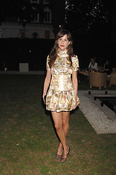 CAROLINE SIEBER at a party to celebrate Le Touessrok a luxury resort in Mauritius, held at The Hempel, 31-35 Craven Hill Gardens, London W2 on 12th June 2007.<br /><br />NON EXCLUSIVE - WORLD RIGHTS