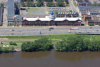 Aerial of Colt Plant at Connecticut River, Hartford, CT