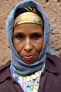 portrait of a moroccan woman