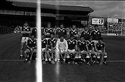 01/09/1985<br /> 09/01/1985<br /> 1 September 1985<br /> All-Ireland Hurling Final: Offaly v Galway at Croke Park, Dublin. <br /> The Galway team.