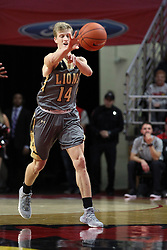 NORMAL, IL - November 24:  Nicklas Johsson during a college basketball game between the ISU Redbirds  and the Lindenwood Lions on November 24 2018 at Redbird Arena in Normal, IL. (Photo by Alan Look)