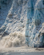 Calving at Margerie Glacier