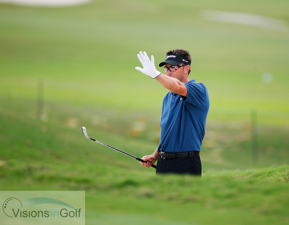 Robert Allenby<br /> WGC CA Championship, Doral, Blue monster GC, Florida USA. <br /> Picture Credit:   Mark Newcombe / visionsingolf.com