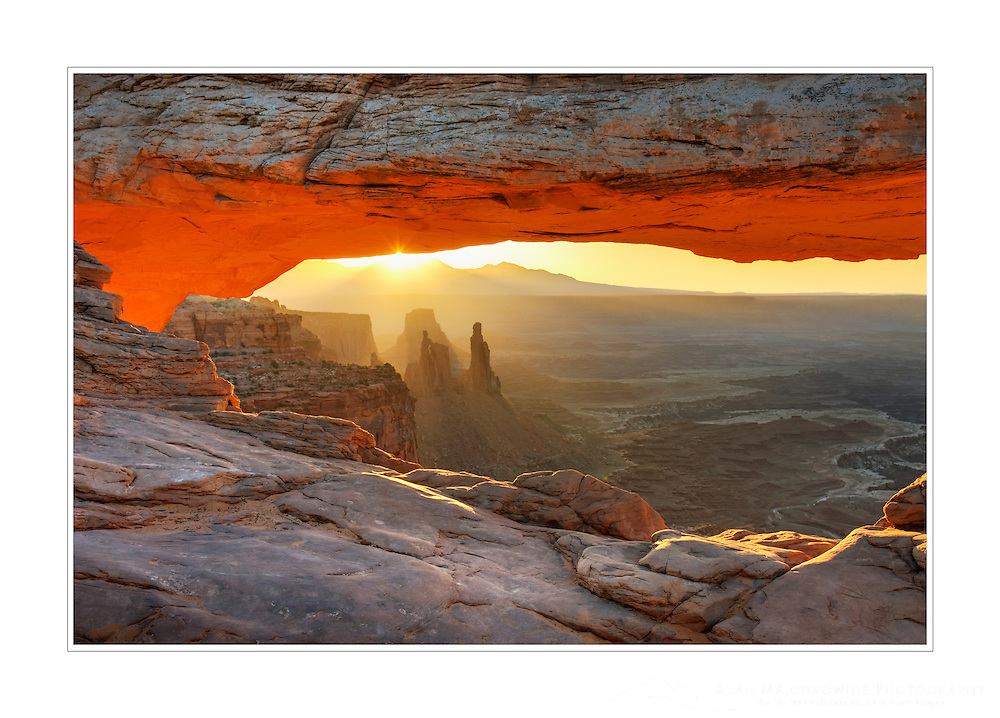 Sunrise at Mesa Arch, Canyonlands National Park, Utah