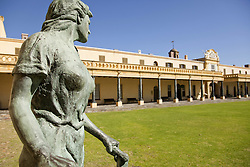 June 3, 2016 - statue at the courtyard of the Castle of Good Hope, Cape Town, Western Cape, South Africa (Credit Image: © AGF via ZUMA Press)