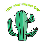 Famous humourous quotes series: Have you hugged your cactus today?