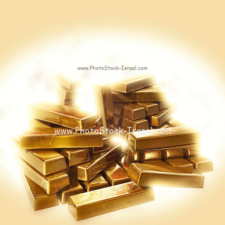 Famous humourous quotes series: A stack of gold bullion
