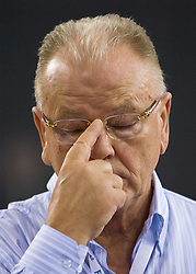 Head coach of Serbia Dusan Ivkovic during the EuroBasket 2009 Group F match between Serbia and Lithuania, on September 16, 2009 in Arena Lodz, Hala Sportowa, Lodz, Poland.  (Photo by Vid Ponikvar / Sportida)