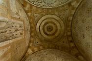 Egypt . Cairo : INSIDE the Mosque mausoleum of KAYRBAK  - NM248 - under renovation by the Agha Khan fondation- in Darb al Ahmar street , islamic Cairo   NM248 +