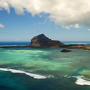 La montagne du Morne Barbant patrimoine classé par l'UNESCO. | The mountain of Morne Barbant classified by UNESCO