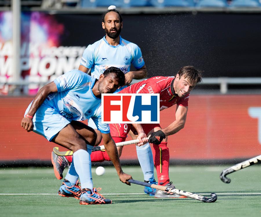 BREDA - Rabobank Hockey Champions Trophy<br /> India - Belgium<br /> Photo: Sebastien Dockier.<br /> COPYRIGHT WORLDSPORTPICS FRANK UIJLENBROEK