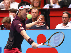 26.10.2018, Wiener Stadthalle, Wien, AUT, ATP Tour, Erste Bank Open, im Bild Kei Nishikori (JPN) // during the Erste Bank Open of ATP Tour at the Wiener Stadthalle in Wien, Austria on 2018/10/26. EXPA Pictures © 2018, PhotoCredit: EXPA/ Thomas Haumer