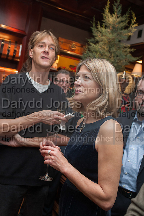 NICK ARCHDALE; EDWINA HICKS, Book launch for ' Daughter of Empire - Life as a Mountbatten' by Lady Pamela Hicks. Ralph Lauren, 1 New Bond St. London. 12 November 2012.