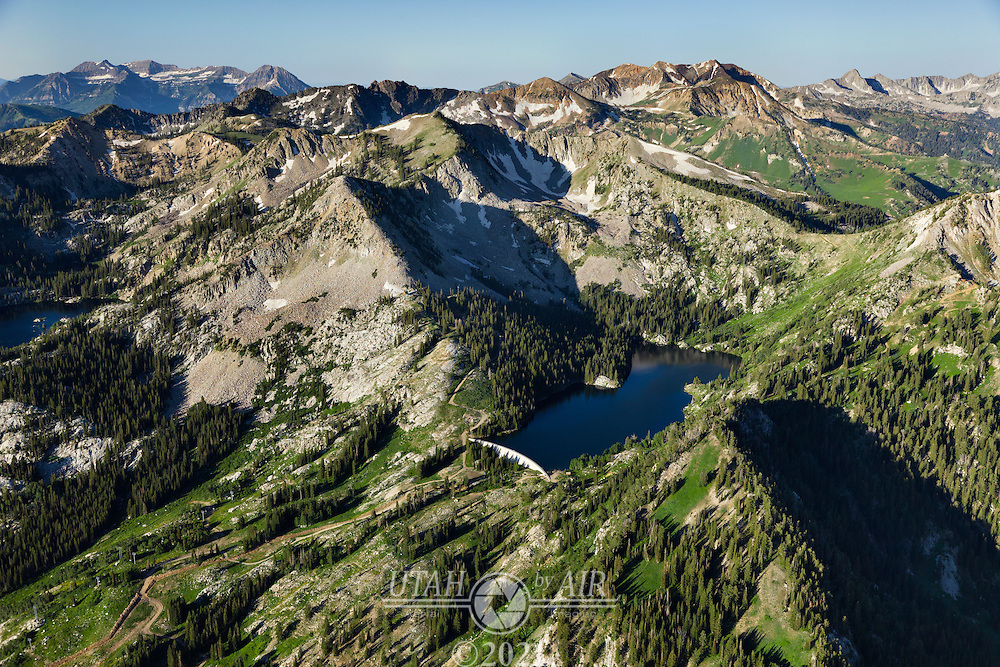 Twin Lakes in Little Cottonwood Canyon