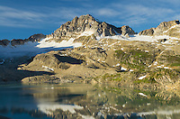 Russell Peak and Middle Limestone Lake, Height-of-the-Rockies Provincial Park British Columbia Canada