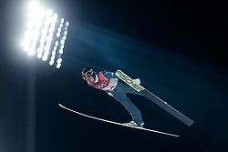 20.02.2018, Alpensia Ski Jumping Centre, Pyeongchang, KOR, PyeongChang 2018, Nordische Kombination, Skisprung, im Bild Johannes Rydzek (GER) // Johannes Rydzek of Germany during Nordic Combined, Skijumping of the Pyeongchang 2018 Winter Olympic Games at the Alpensia Ski Jumping Centre in Pyeongchang, South Korea on 2018/02/20. EXPA Pictures © 2018, PhotoCredit: EXPA/ Johann Groder