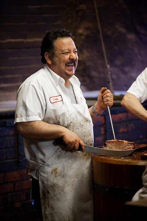 Pablo at Smitty's Market - Lockhart, Texas
