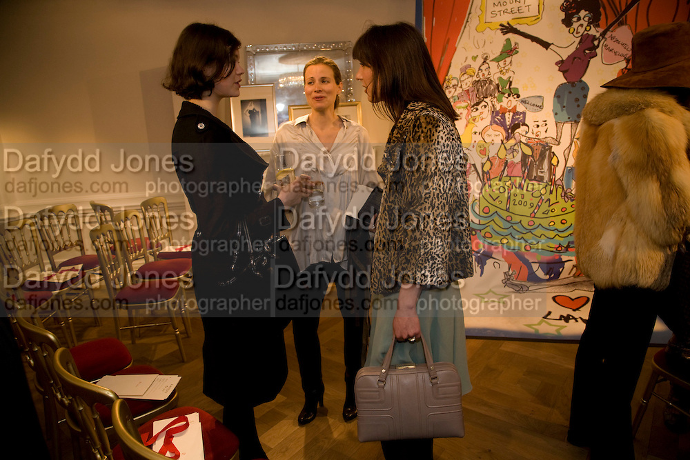 JASMINE GUINNESS; JANE GOTTSCHALK; SAMANTHA CAMERON  The Launch of the Lanvin store on Mount St. Presentation and cocktails.  London. 26 March 2009