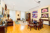 Living Room at 42 East 20th Street