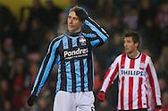 29-01-2011: Voetbal:PSV:Willem II:Eindhoven<br /> David Strahivka teleurgesteld na afloop van de wedstrijd<br /> Foto: Geert van Erven