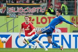 13.03.2011, Bruchwegstadion, Mainz, GER, 1. FBL, FSV Mainz 05 vs Bayer 04  Leverkusen, im Bild Eugen POLANSKI (Mainz GER #7), Michael Ballack (Leverkusen #13), EXPA Pictures © 2011, PhotoCredit: EXPA/ nph/  Roth       ****** out of GER / SWE / CRO  / BEL ******