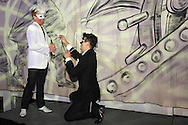 A proposal was an unexpected highlight of Masquerage 2012 in the Roundhouse at the Montgomery County Fairgrounds in Dayton, Saturday, October 20, 2012..