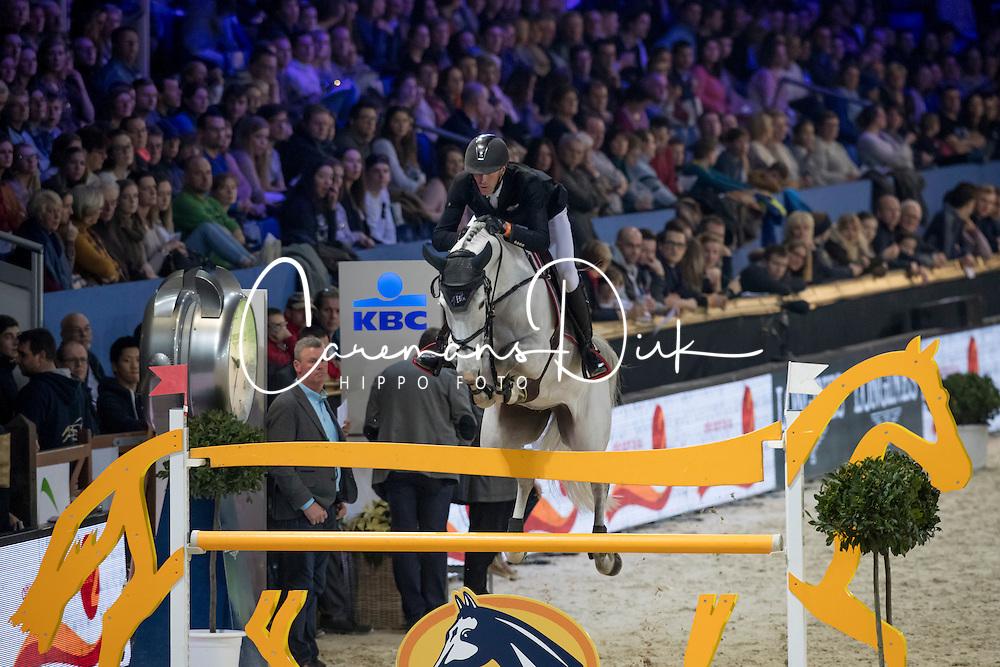 Staut Kevin, (FRA), Unna De Kerglenn<br /> Grand Prix Sport Vlaandren <br /> Vlaanderens Kerstjumping Memorial Eric Wauters<br /> &copy; Dirk Caremans<br /> 27/12/2016