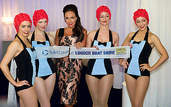 © Licensed to London News Pictures. 06/12/2010 London, UK. .Tamara Ecclestone opens the London Boat Show at the Excel Centre, London. The UK's premier marine leisure event runs from 6th to 15th January 2012..Photo credit : Simon Jacobs/LNP