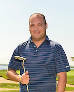 Oceanside, New York, USA. 2nd August 2013. KENNETH PEREZ, of Massapequa, is golfing at South Bay Country Club.<br />