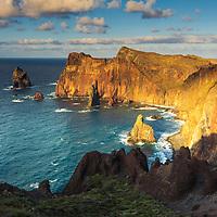 Ponta do Rosto coastline