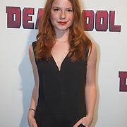 NLD/Hilversum/20160209 - Filmpremiere Deadpool, Luca Hollestelle