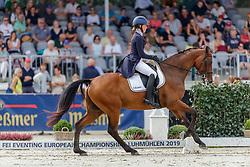Adnervik Ebba, SWE, Chippieh<br /> European Championship Eventing<br /> Luhmuhlen 2019<br /> © Hippo Foto - Stefan Lafrentz