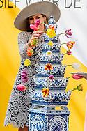 7-4-2017 DELFT - Queen Maxima opens Friday April 7th in Museum Prinsenhof Delft exhibition Forbidden Porcelain - Exclusive to the emperor.<br /> The exhibition shows Chinese porcelain from the Ming Dynasty (1368-1644) that was created exclusively for the Chinese emperors. Each design series were produced, so that the judges only presented the best porcelain to the emperor. The porcelain failed or been chosen, had to be destroyed. Thanks to archaeological excavations these pieces have been recovered. The exhibition responds to the taste, but also on the religious or political messages have to convey the emperors with their porcelain. On the occasion of the exhibition, Chinese and Dutch artists in Jingdezhen ceramic cities Delft and made a series of objects of porcelain and Delftware. Queen M&aacute;xima speaking some of these artists at the opening.<br /> COPYRIGHT ROBIN UTRECHT<br /> <br /> 7-4-2017 DELFT - Koningin Maxima opent vrijdagochtend 7 april in Museum Prinsenhof Delft de tentoonstelling Verboden Porselein &ndash; Exclusief voor de keizer.<br /> De expositie toont Chinees porselein uit de Ming-dynastie (1368-1644) dat exclusief voor de Chinese keizers is gemaakt. Van ieder ontwerp werden reeksen geproduceerd, zodat de keurmeesters alleen het beste porselein aan de keizer presenteerden. Het porselein dat niet lukte of gekozen werd, moest vernietigd worden. Dankzij archeologische opgravingen zijn deze stukken teruggevonden. In de tentoonstelling wordt ingespeeld op de smaak, maar ook op de religieuze of politieke boodschappen die de keizers met hun porselein hebben willen uitdragen. Ter gelegenheid van de tentoonstelling hebben Chinese en Nederlandse kunstenaars in keramieksteden Jingdezhen en Delft een serie objecten gemaakt van porselein en Delfts aardewerk. Koningin M&aacute;xima spreekt een aantal van deze kunstenaars tijdens de opening.<br /> COPYRIGHT ROBIN UTRECHT