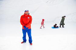 February 9, 2018 - Pyeongchang, SOUTH KOREA - 180209 Emil Hegle Svendsen of Norway during a press event with the Norwegian men's biathlon team during the 2018 Winter Olympics on February 9, 2018 in Pyeongchang..Photo: Jon Olav Nesvold / BILDBYRN / kod JE / 160149 (Credit Image: © Jon Olav Nesvold/Bildbyran via ZUMA Press)