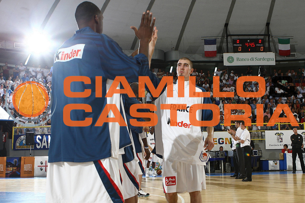 DESCRIZIONE : Cagliari Eurobasket Men 2009 Additional Qualifying Round Italia Francia<br /> GIOCATORE : Nando De Colo<br /> SQUADRA : Francia France<br /> EVENTO : Eurobasket Men 2009 Additional Qualifying Round <br /> GARA : Italia Francia Italy France<br /> DATA : 05/08/2009 <br /> CATEGORIA : <br /> SPORT : Pallacanestro <br /> AUTORE : Agenzia Ciamillo-Castoria/C.De Massis