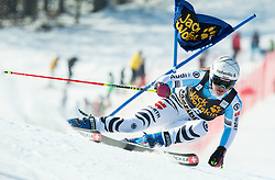 REBENSBURG Viktoria (GER) competes during 5th Ladies' Giant slalom at 51st Golden Fox of Audi FIS Ski World Cup 2014/15, on February 21, 2015 in Pohorje, Maribor, Slovenia. Photo by Vid Ponikvar / Sportida