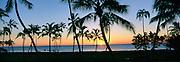 Sunset, Ko'olina, Oahu, Hawaii, USA<br />