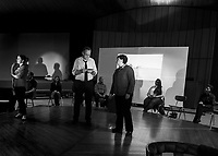 Laramie Project with the Streetcar Company at United Methodist  Church in Gilford.  Karen Bobotas for the Laconia Daily Sun