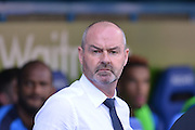 Reading's Manager Steve Clarke during the Sky Bet Championship match between Reading and Milton Keynes Dons at the Madejski Stadium, Reading, England on 22 August 2015. Photo by Mark Davies.