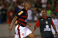 20100224: RIO DE JANEIRO, BRAZIL - Flamengo vs CD Universidad Catolica: Copa Libertadores 2010. In picture: Adriano (Flamengo) celebrating goal. PHOTO: CITYFILES