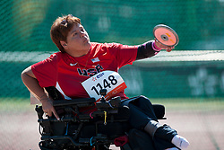 COLE Zena, USA, Discus, F51, 2013 IPC Athletics World Championships, Lyon, France