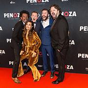 NLD/Amsterdam/20191118 - Filmpremiere Penoza: The Final Chapter, Niels Gomperts, Stijn Taverne,  Charlie Chan Dagelet, Gustav Borreman,  Diederik van Rooijen