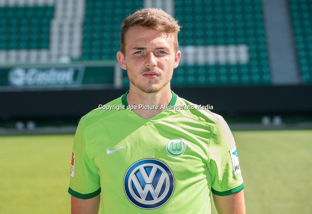 German Bundesliga - Season 2016/17 - Photocall VfL Wolfsburg on 14 September 2016 in Wolfsburg, Germany: Jannes Horn. Photo: Peter Steffen/dpa | usage worldwide