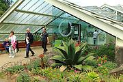 Princess of Wales conservatory entrance,  Royal Botanic Gardens, Kew, London, England, UK