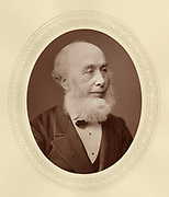 'Richard Redgrave (1804-1888) c1878, English landscape painter, elected Royal Academician 1851: Surveyor of crown pictures 1856-1880: Art Director of the South Kensington Museum 1857.'