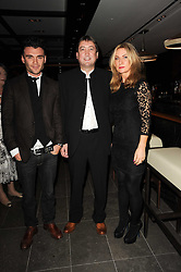 Left to right, ?, NIALL HOWARD CEO of Hakkasan and MEG MATTHEWS at a dinner to celebrate the work of Malaria No More UK held at Hakkasan Mayfair, 17 Bruton Street, London W1 on 16th November 2010.