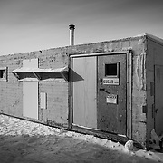Sugar Shack, Backyard, South Pole Station