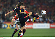2010 World Cup Quarter Finak - PARAGUAY v SPAIN